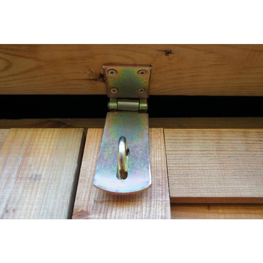 Coffre multifonctions en pin traité  autoclave CHALET ET JARDIN