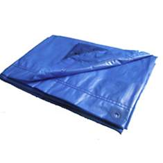 Bâche de protection 6x10 m bleue  CHALET...