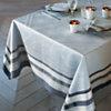Lot de 4 serviettes de table Galerie des  Glaces GARNIER THIEBAUT, Argent