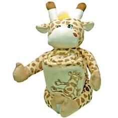 Doudou cape de bain Sonia Girafe