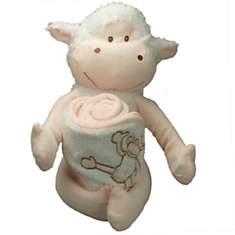 Doudou cape de bain Théo Mouton