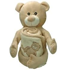 Doudou cape de bain Ben Teddy Bear