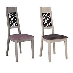 Lot de 2 chaises Saraya