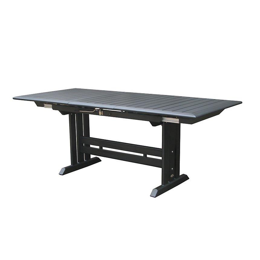 Table à rallonge 184/243 plateau HPL LES JARDINS