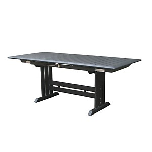 Table aluminium plateau HPL gris 217/300