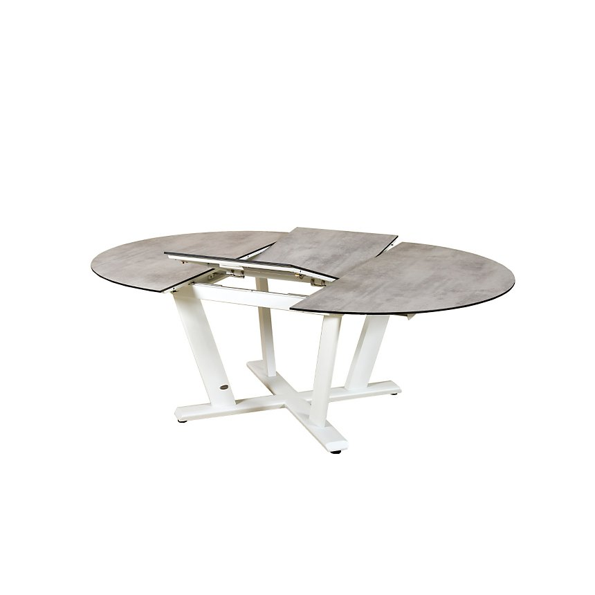 Table ronde extensible 146/2016 Hegoa LES JARDINS