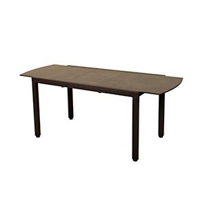 Table de balcon extensible Ticao marron