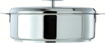 Sauteuse Exceliss + couvercle verre  CRISTEL Strate - 22 cm
