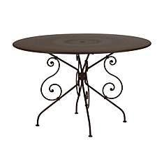 Table FERMOB 1900 Ø 117cm,  coloris au c