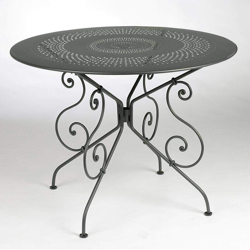 Table diamètre 96 cm 1900 FERMOB