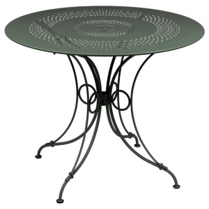 Table diamètre 96 cm 1900 FERMOB