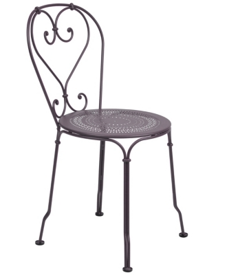 Lot de 2 chaises empilables 1900 FERMOB