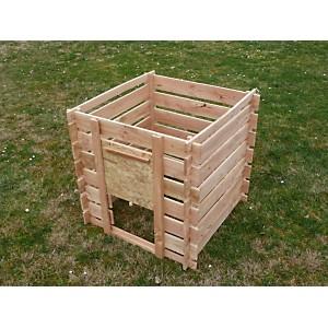 Composteur en bois Douglas Naturel CIHB