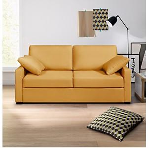 Canapé tissu coton déhoussable Oslo