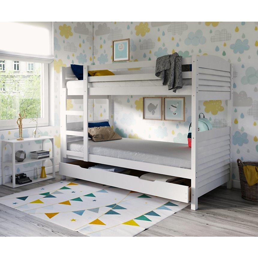 lits superposés séparables woopi blanchi