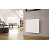 Radiateur Axiom horizontal blanc fonte  active Smart ECOControl NOIROT