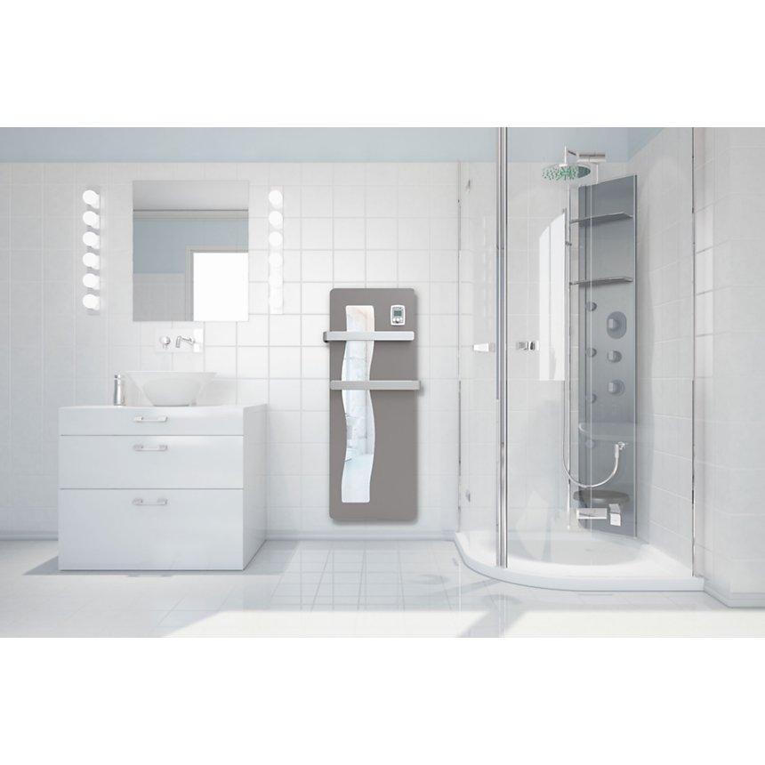 Radiateur sèche-serviettes avec façade  miroir Vague NOIROT