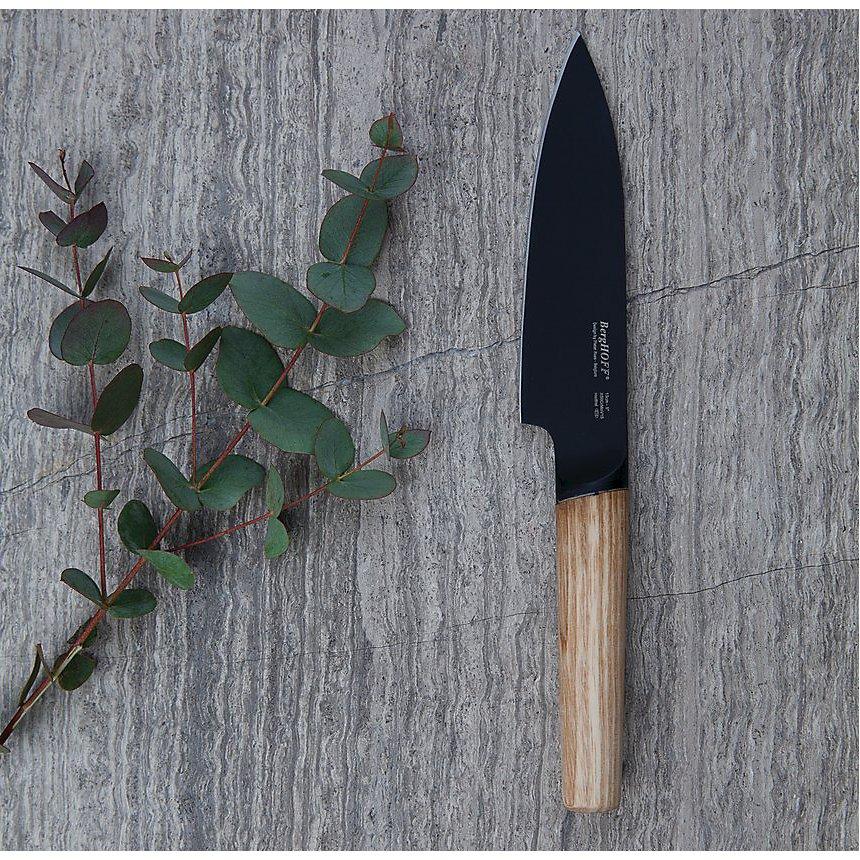 Couteau de chef Manche frêne 13 cm BERGHOFF - Ron Titan