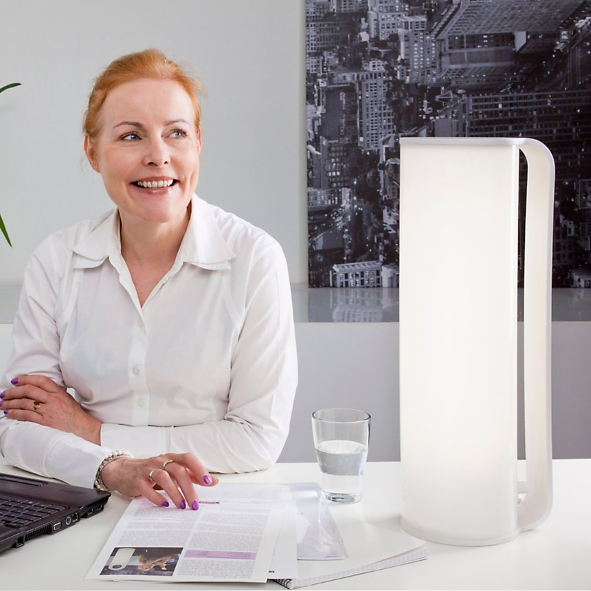 Luminothérapie INNOLUX lampe Tubo  coloris blanc