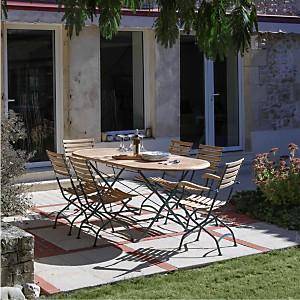 Tables de jardin en bois - Camif