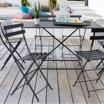 Beautiful table haute de jardin fermob contemporary - Table pliante exterieur ...