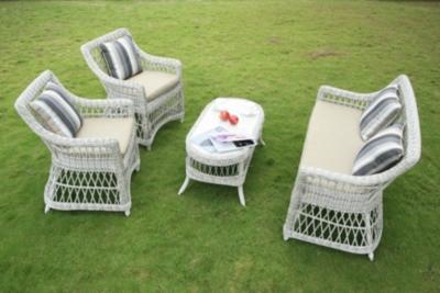 Ensemble 2 fauteuils, canapé 2 places et  table basse Exeter MEDICIS