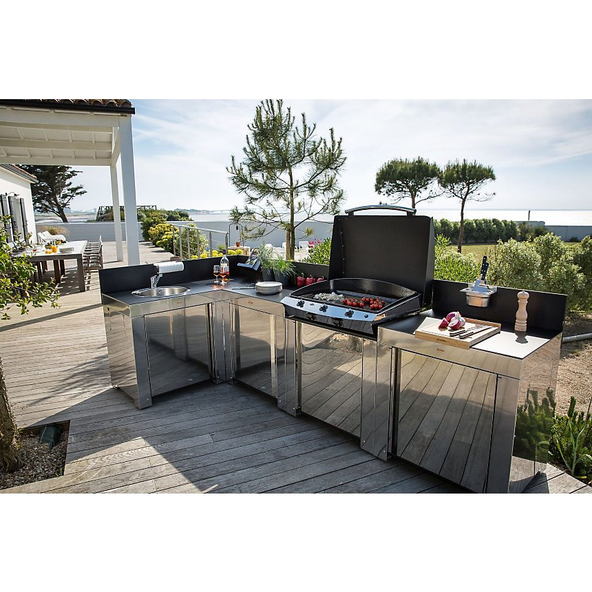 Option étagère pour cuisine d'extérieur  ENO