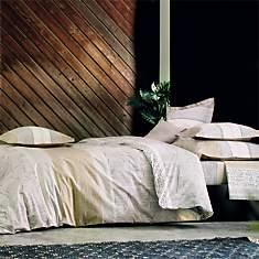 Parure de lit percale Cadences BLANC DES