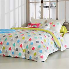 Taie percale Sula SCION LIVING, Citron