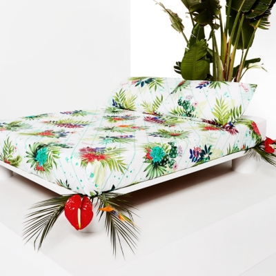 Taie percale Psychotropical DESIGUAL