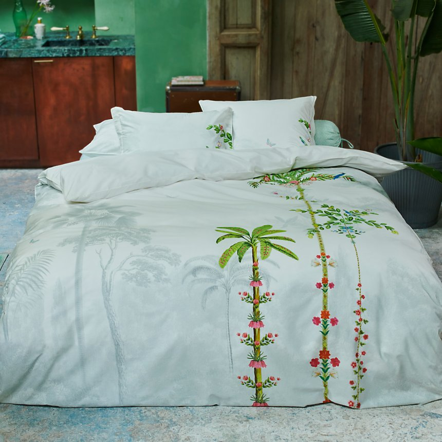 Taie d'oreiller percale Indian Palms PIP  STUDIO