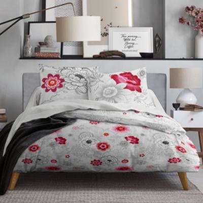 Parure de lit zippée Rosa MAWIRA...