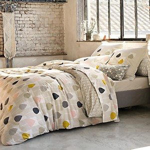Taie de traversin percale Sula Blush  SCION LIVING
