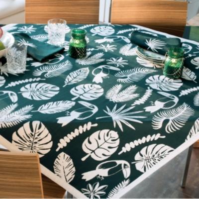 Linge de table réversible Toucan GARNIER  THIEBAUT