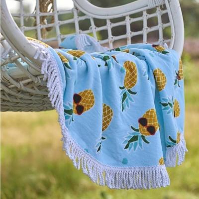 Drap de plage Pineapple COVERS & CO