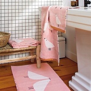 Serviette de toilette Lintu SCION LIVING, blush