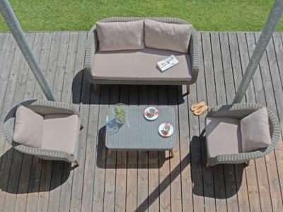 Ensemble Centura PRO LOISIRS composé de 2 fauteuils, 1 canapé et 1 ...