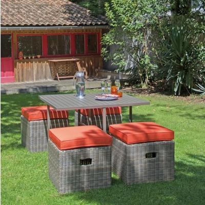 Tables de jardin marron pro-loisirs - Camif
