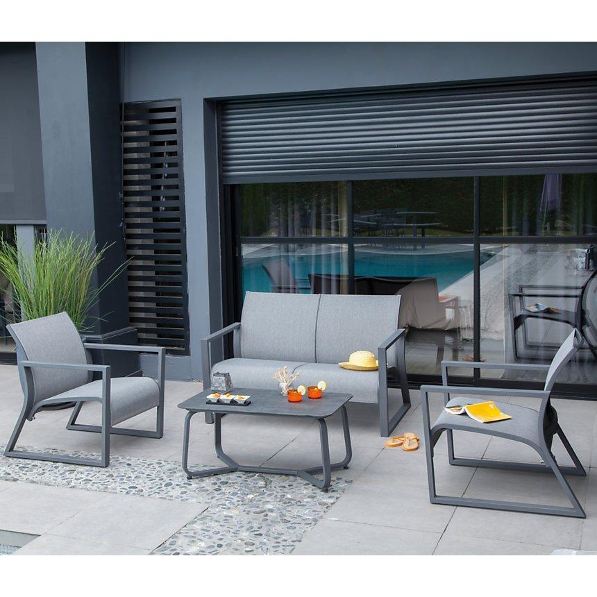 Lot de 2 fauteuils Lounge Quenza OCEO