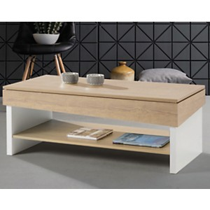 Table basse relevable Gwenda