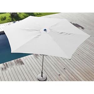 Parasol Easy Up 330 aluminium anodisé plat OCEO