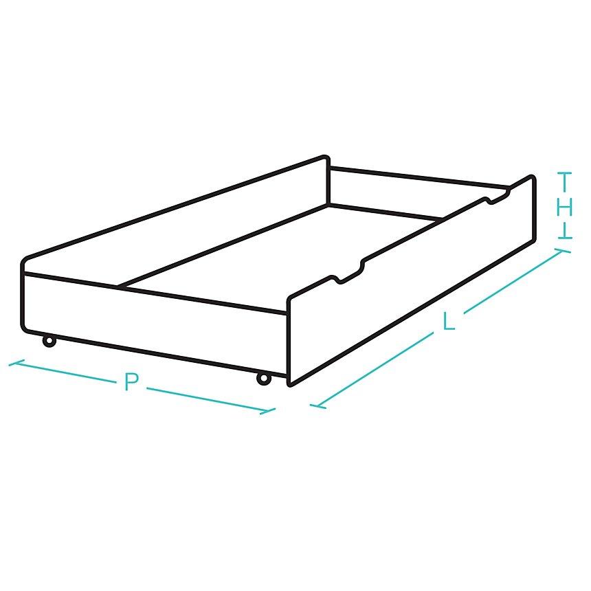 Tiroir pour lit extensible Tanguy