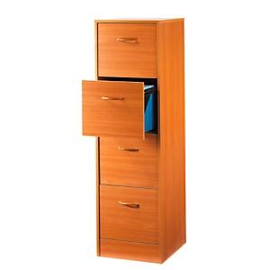 Classeur à tiroirs, hauteur 140,4 cm