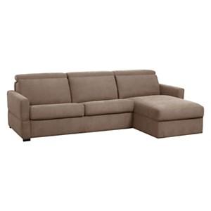 Canapé d'angle tissu antitache Severin