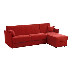 Canap D Angle Rouge Free Canap Duangle Convertible Tissu Rouge With