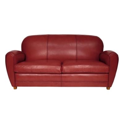 Canapé cuir de mouton Sheffield