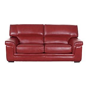 Canapé 3 places cuir buffle Valentina