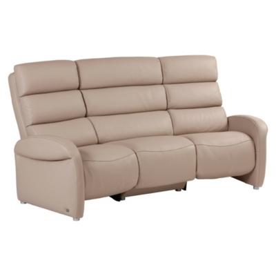Canapé relax electrique cuir Barizey