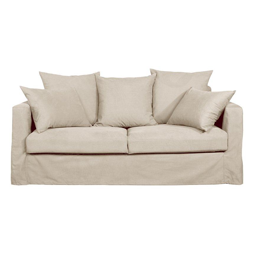 Canapé Maretz tissu coton-lin