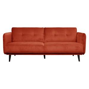 Canapé tissu velours Parker